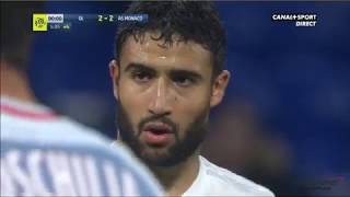 OL-AS Monaco - But de Nabil Fekir à la 90+4