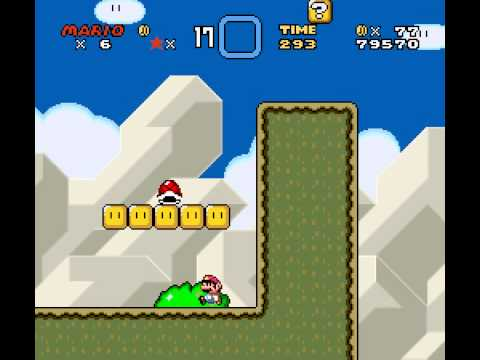 Super Mario World - Super Mario World (SNES) - Vizzed.com Play - User video