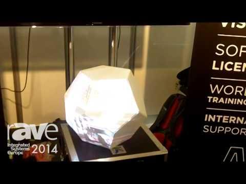 ISE 2014: Avolites Exhibits Avolites Media Ai Server for Video Mapping onto 3D Objects