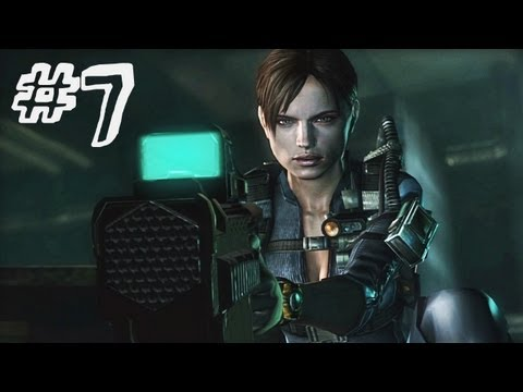Resident Evil Revelations Gameplay Walkthrough Part 7 - A Nightmare Revisited - Campaign Episode 4