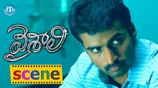 Vaishali - Vaishali Telugu Movie Scenes | Nandha doesn't want Sindhu to Work | Aadhi | Saranya