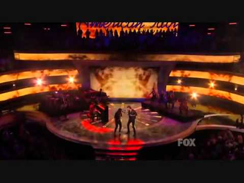 Lady Antebellum In American Idol -just A Kiss video