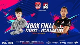 F2TEKKZ VS EXCELSIOR LEVY CONSOLE FINAL! FUT 19 CHAMPIONS CUP MARCH!