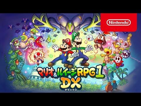 マリオ&ルイージRPG1 DX ç´¹ä»‹æ˜ åƒ�
