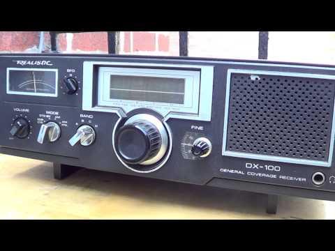 Radio Africa via WRMI 17790 Khz on Realistic DX 100