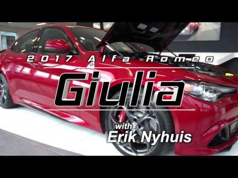 Safford reviews the all-new 2017 Alfa Romeo Giulia Quadrifoglio in Tysons Corner. Virginia!