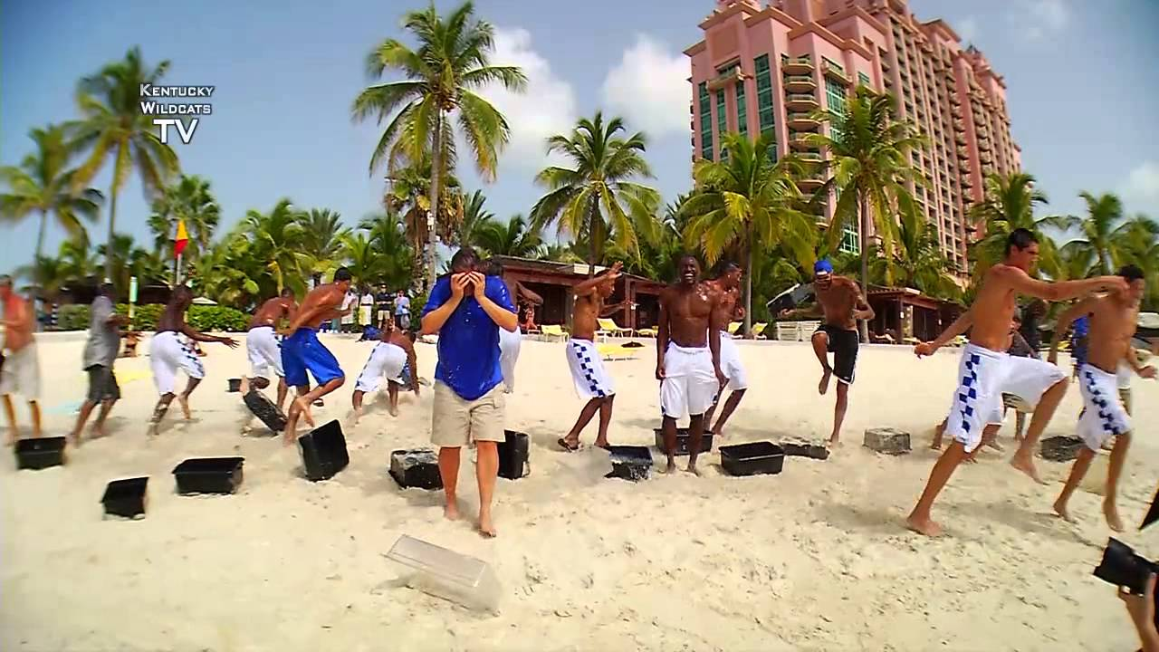 Kentucky Wildcats TV: Kentucky Basketball - ALS Ice Bucket Challenge ...