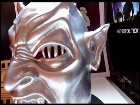Demons Movie Mask Mascara Demons Demons Movie