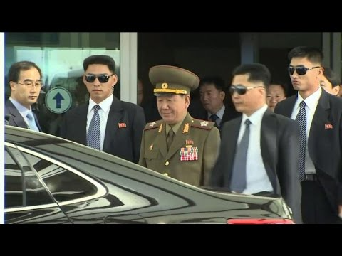 Top N. Korea leaders hold talks on rare visit to South