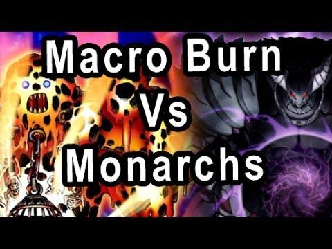 Macro Burn Vs Monarchs