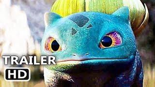 "POKÉMON DETECTIVE PIKACHU ""Bulbasaur + Lickitung"" Trailer (2019) Action Movie HD"