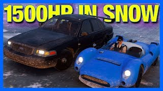 Forza Horizon 4 : 1500 Horsepower in Winter Challenge!!