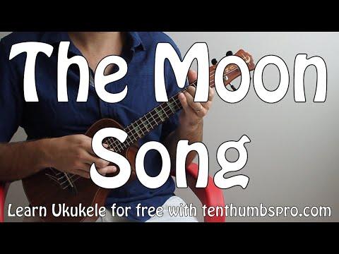 Karen 0 - The Moon Song (From Spike Jonze's Her) - Easy Song Fingerpicking Ukulele Tutorial