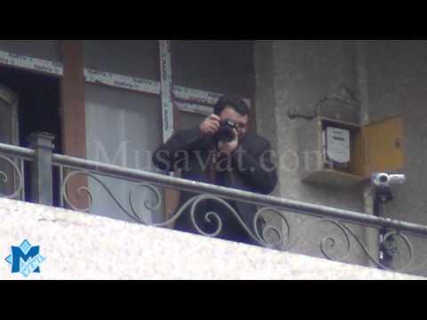 Milli Şuranın 27 oktyabr mitinqində gizli çəkiliş