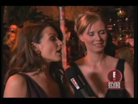 Sex and the City's Kristin Davis and Cynthia Nixon with Lisa Guerrero 2005