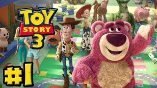 Toy Story 3 The Video-Game - Part 1 - Train Chase (HD Gameplay Walkthrough)