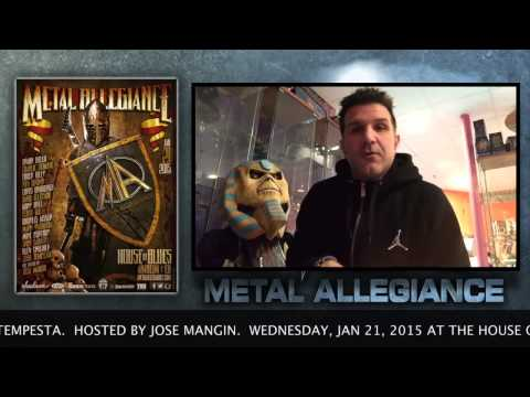 Charlie Benante Of Anthrax Talks About The Metal Allegiance Show At House Of Blues January 21, 2015