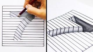 20の簡単でクールなお絵描きトリック