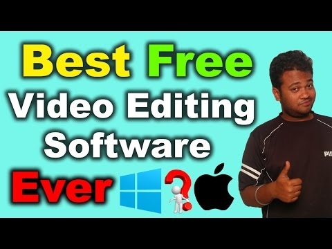 Best Free Video Editing Software Ever   2016 [Hindi]