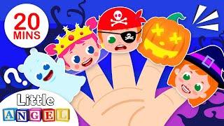 Finger Family Halloween Celebration | Trick or Treat | Nursery Rhymes & Kids Songs by Little Angel