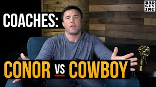The Coaches Speak: Conor McGregor vs Cowboy Cerrone