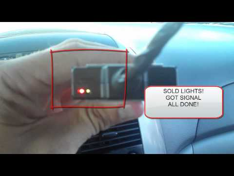 How to install car GPS tracking unit into vehicle using dome light