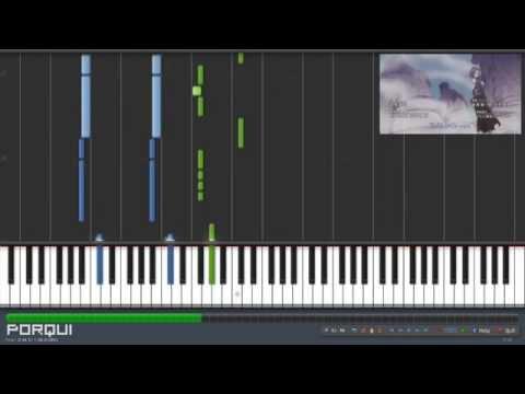Fairy Tail Opening 19 - Yumeiro Graffiti (synthesia) video