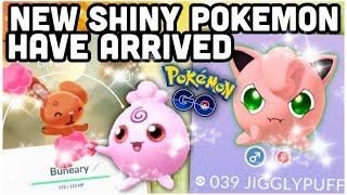 New shiny Pokemon have arrived in Pokemon GO | Shiny Igglybuff & Buneary | NEW sale boxes & more