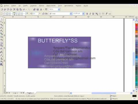 CorelDraw-Tarjeta de presentacion-CecytemTecamac