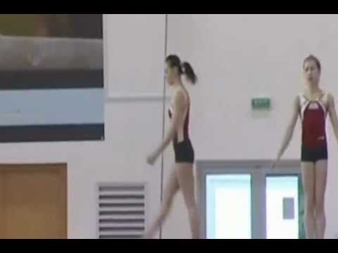Catalina Ponor Balance Beam Training 2011