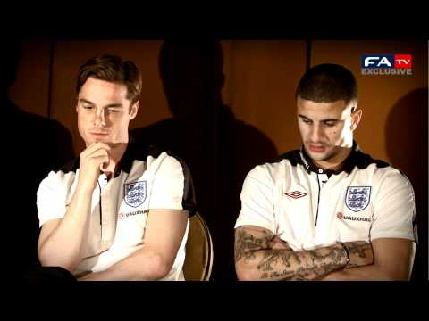 Kyle Walker and Scott Parker interview | England vs Spain