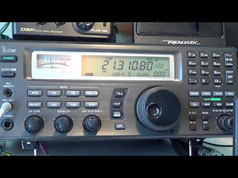 CN2AA Morocco ham radio station contest 15 meter band shortwave