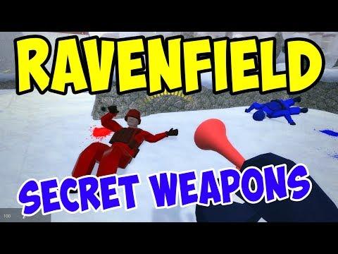 UNLOCKING NEW SECRET WEAPONS (Beta 6) - Ravenfield Gameplay