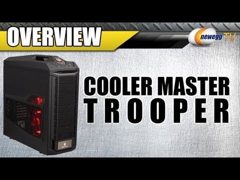 Newegg TV: COOLER MASTER CM Storm Series Trooper ATX Full Tower Computer Case Overview