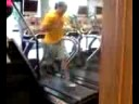 Tim Theis Back Peddlin' On Tread Mill