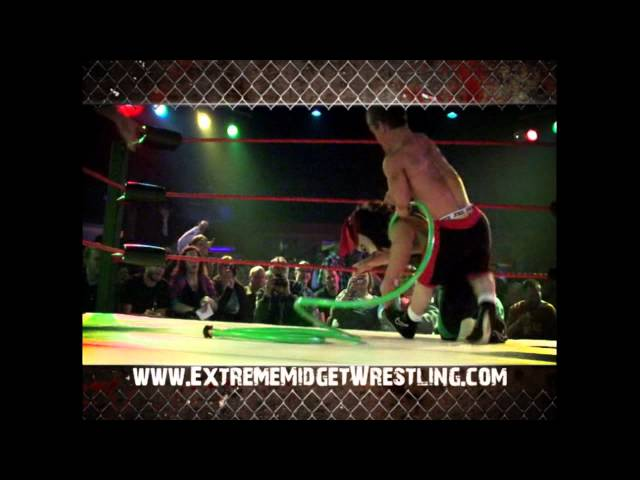 Extreme Midget Wrestling Comes to Strokers Dallas