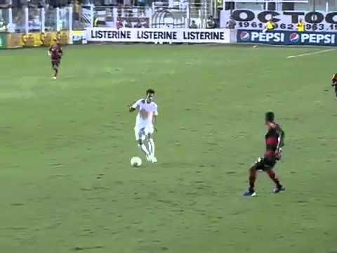 NEYMAR AMAZING GOAL  (Santos 2 - 0 Flamengo 12.09.12)
