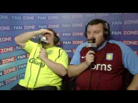 Everton 2 - 3 Aston Villa Fanzone Video