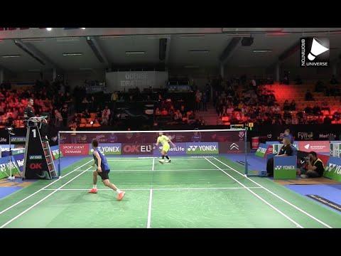 Lee Chong Wei vs Kashyap Parupalli - MS [Denmark Open 2015]