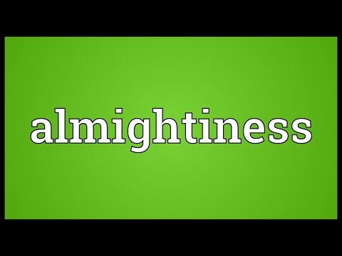 Header of Almightiness