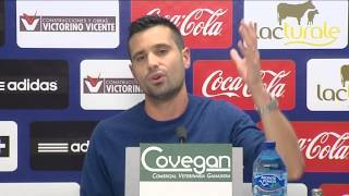 Rueda de prensa de Miguel Flaño