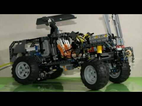 lego technic 8297 off roader lowrider motorized pneumatic. Black Bedroom Furniture Sets. Home Design Ideas