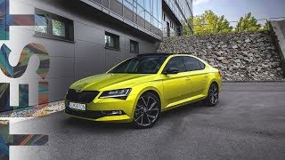 2017 Škoda Superb 2.0 TSI Sportline | TEST