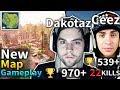 NEW MAP CDNThe3rd & Dakotaz Best Squad Game #86 (Fortnite Battle Royale)