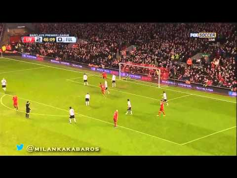 Steven Gerrard V Fulham 22 12 2012