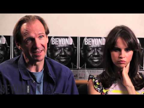 Ralph Fiennes & Felicity Jones talk