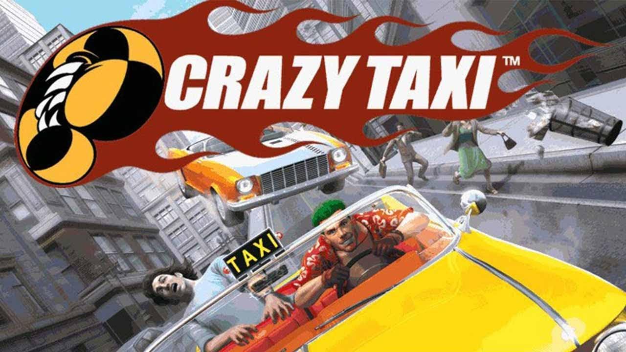 Crazy Taxi Old School Sega