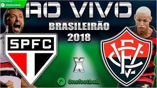 São Paulo 3x0 Vitória | Brasileirão 2018 | Parciais Cartola FC | 12ª Rodada | 12/06/2018