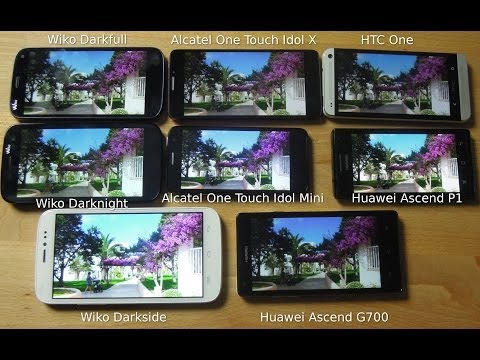 Alcatel OneTouch 3020 Video clips