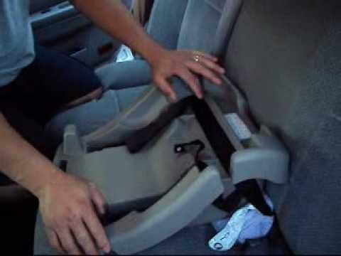 Como instalar la base del asiento para bebes youtube for Asiento para bebe auto